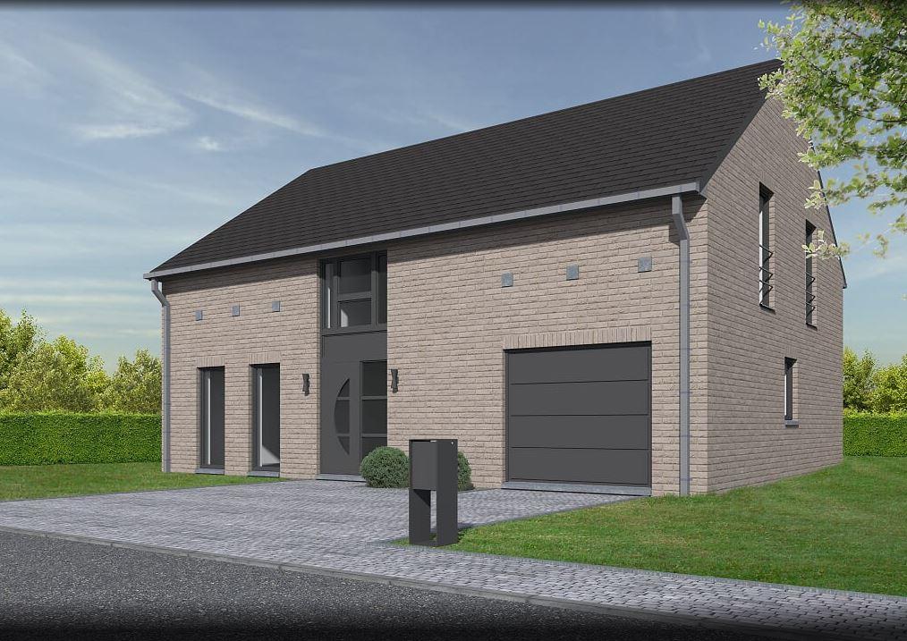 Lhonneux promo lotissement colson maison 4 facades for Facade de maison design